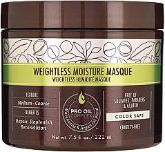 Parfémy, Parfumerie, kosmetika Hydratační maska pro jemné vlasy - Macadamia Professional Natural Oil Weightless Moisture Masque