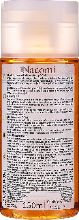 Olej na odstranění make-upu pro normální a suchou plet' - Nacomi Cleansing Oil Make Up Remover — foto N2