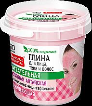 """Parfémy, Parfumerie, kosmetika Růžová hlína na obličej, tělo a vlasy """"Altaj"""" - Fito Kosmetik"""