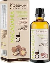 Parfémy, Parfumerie, kosmetika Regenerační olej na vlasy - Kosswell Professional Macadamia Oil