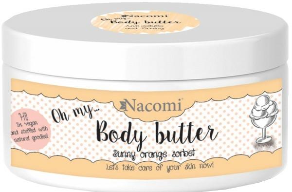 Tělový olej - Nacomi Body Butter Sunny Orange Sorbet — foto N1