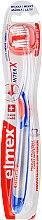 Parfémy, Parfumerie, kosmetika Měkký zubní kartáček, průsvitný/modrý/oranžový - Elmex Toothbrush Caries Protection InterX Soft Short Head