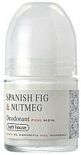 Parfémy, Parfumerie, kosmetika Bath House Spanish Fig and Nutmeg - Kuličkový deodorant