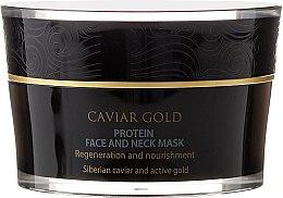 Parfémy, Parfumerie, kosmetika Proteinová maska na obličej a krk - Natura Siberica Caviar Gold