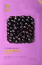 Parfémy, Parfumerie, kosmetika Vitaminizující obličejová maska s bobulemi acai - Holika Holika Pure Essence Mask Sheet Acai Berry