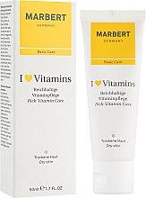 Parfémy, Parfumerie, kosmetika Krém na suchou pokožku - Marbert I Love Vitamins Rich Vitamin Care