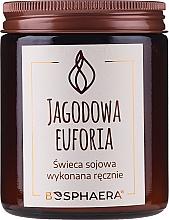 Parfémy, Parfumerie, kosmetika Aromatická svíčka Berry Euphoria - Bosphaera Berry Euphoria