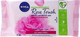 Parfémy, Parfumerie, kosmetika Ubrousky na odličování s růžovou vodou - Nivea Micellair Skin Breathe Makeup