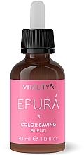 Parfémy, Parfumerie, kosmetika Koncentrát pro ochranu barvy vlasů - Vitality's Epura Color Saving Blend