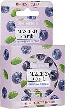 Parfémy, Parfumerie, kosmetika Máslo na ruce Borůvka - Bielenda Hand Butter Regenerating Blueberry