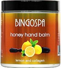 Parfémy, Parfumerie, kosmetika Balzám na ruce s medem a citronem - BingoSpa