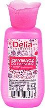 Parfémy, Parfumerie, kosmetika Tekutina na odstranění laku, růžová - Delia Nail Polish Remover