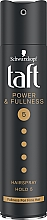 Parfémy, Parfumerie, kosmetika Lak na vlasy s keratinem super fixace - Schwarzkopf Taft Power & Fullness Hairspray