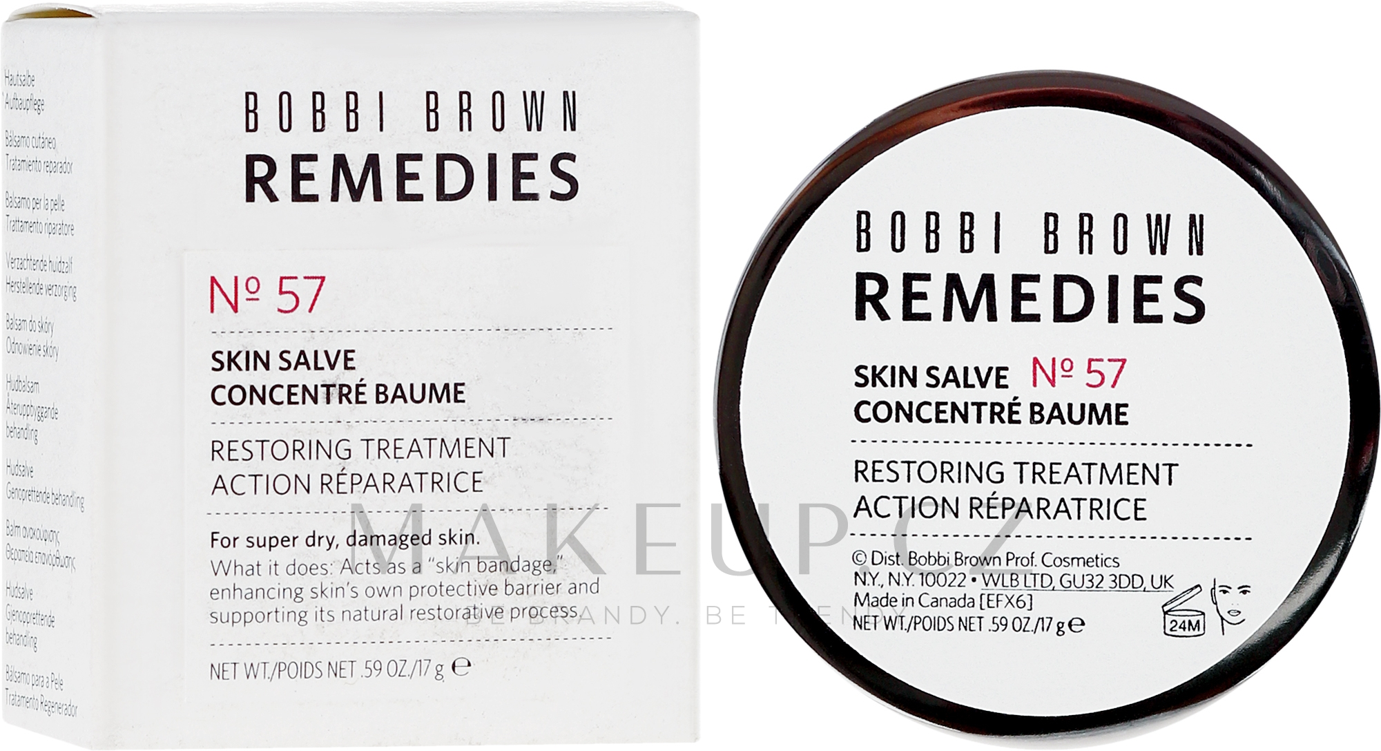 Balzám pro obnovu pleti - Bobbi Brown Remedies Skin Salve №57 — foto 17 g