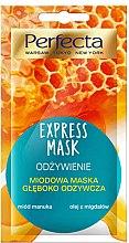 """Parfémy, Parfumerie, kosmetika Maska na obličej """"Výživný"""" - Perfecta Express Mask"""