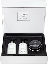 Parfémy, Parfumerie, kosmetika Sada - Balmain Paris Hair Couture Moisturizing Care Set (shm/300ml + cond/300ml + mask/200ml)