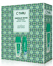 Parfémy, Parfumerie, kosmetika C-Thru Emerald Shine - Sada (deo/spay/150ml + deo/75ml)