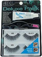 Parfémy, Parfumerie, kosmetika Sada umělých řas - Ardell Deluxe Twin Pack Lashes #105 With Applicator