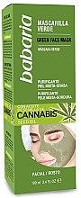 Parfémy, Parfumerie, kosmetika Čisticí maska na obličej - Babaria Cannabis