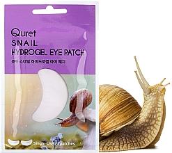 Parfémy, Parfumerie, kosmetika Náplastí pod oči - Quret Snail Hydrogel Eye Patch