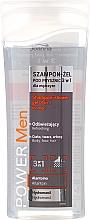 Parfémy, Parfumerie, kosmetika Sprchový gel a šampon 3 v 1 - Joanna Power Men Shampoo&ShowerGel