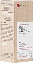 Parfémy, Parfumerie, kosmetika Mléko na obličej - Phenome Sustainable Science Anti-Wrinkle Face Lotion
