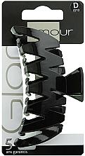 Parfémy, Parfumerie, kosmetika Sponka do vlasů, 0212, černá - Glamour