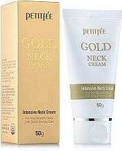 Parfémy, Parfumerie, kosmetika Krém na krk a dekolt se zlatem - Petitfee & Koelf Gold Neck Cream