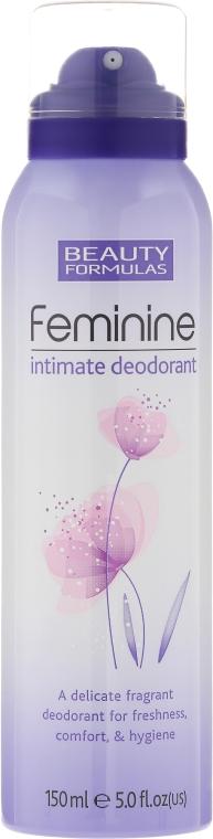 Deodorant pro intimní hygienu - Beauty Formulas Feminine Intimate Deodorant