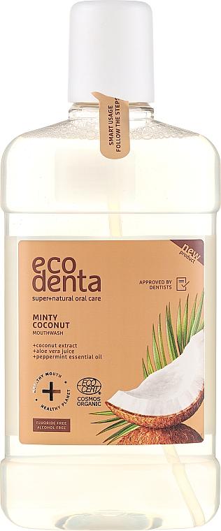 Ústní voda - Ecodenta Cosmos Organic Minty Coconut