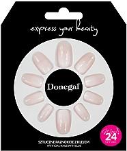 Parfémy, Parfumerie, kosmetika Sada umělých nehtů s lepidlem, 3058 - Donegal Express Your Beauty