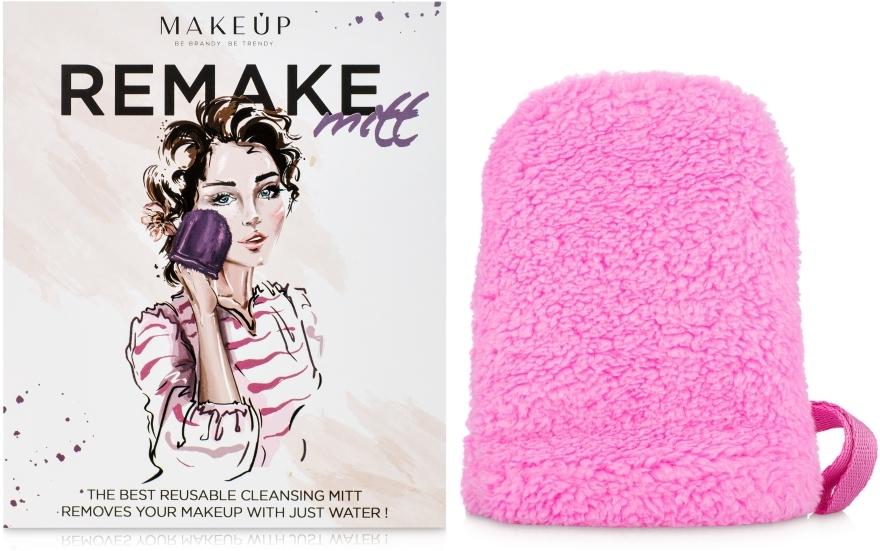 """Odličovací rukavice, růžová """"ReMake"""" - MakeUp"""