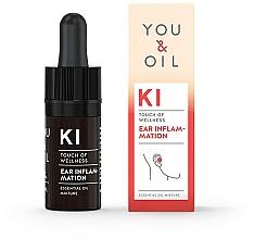 Parfémy, Parfumerie, kosmetika Směs esenciálních olejů - You & Oil KI-Ear Inflammation Touch Of Welness Essential Oil