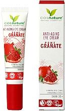 Parfémy, Parfumerie, kosmetika Krém na oční víčka Granátové jablko - Cosnature Eye Cream Pomegranate