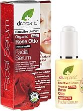 Parfémy, Parfumerie, kosmetika Sérum na obličej Růže - Dr. Organic Rose Facial Serum