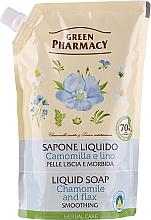 Parfémy, Parfumerie, kosmetika Tekuté mýdlo Heřmánek a len - Green Pharmacy (doypack)