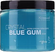 Parfémy, Parfumerie, kosmetika Dlouhotrvající strukturující gel - Kosswell Professional Dfine Crystal Blue Gum