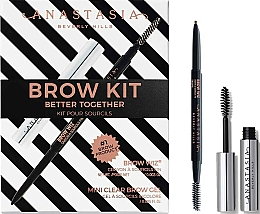 Parfémy, Parfumerie, kosmetika Sada - Anastasia Beverly Hills Better Together Brow Kit Taupe (pencil/0.085g + gel/2.5ml)