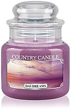 """Parfémy, Parfumerie, kosmetika Vonná svíčka """"Sny"""" (sklenice) - Country Candle Daydreams"""