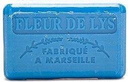 Parfémy, Parfumerie, kosmetika Marseille mýdlo Lilie - Foufour Savonnette Marseillaise Fleur de Lys
