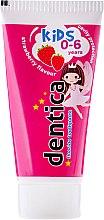 "Parfémy, Parfumerie, kosmetika Dětská zubní pasta ""Jahoda"" - Dentica Dental Protection For Kids"