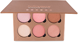 Parfémy, Parfumerie, kosmetika Paleta s efektem záření pleti - Bellapierre Cosmetics Glowing Palette