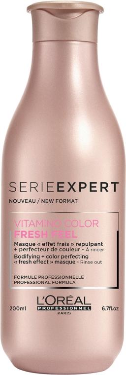 Maska s osvěžujícím účinkem pro ochranu a zachování barvy obarvených vlasů - L'Oreal Professionnel Vitamino Color A-OX — foto N2
