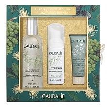 Parfémy, Parfumerie, kosmetika Sada - Caudalie Power Glow Essentials Set (f/water/100ml + f/mousse/50ml + f/mask/15ml)