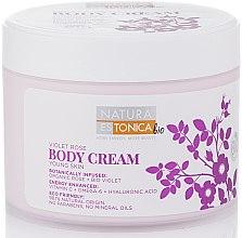 Parfémy, Parfumerie, kosmetika Tělový krém Fialová Růže - Natura Estonica Violet Rose Body Cream