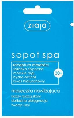 Pleťová hydratační maska - Ziaja