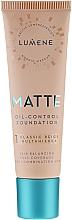 Parfémy, Parfumerie, kosmetika Matující podkladová báze - Lumene Matte Oil-control Foundation