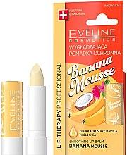 "Parfémy, Parfumerie, kosmetika Balzám na rty ""Banánová pěna"" - Eveline Cosmetics Lip Therapy Smoothing Balm Banana Mousse"