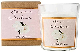 Parfémy, Parfumerie, kosmetika Aromatická svíčka Magnólie - Ambientair Le Jardin de Julie Magnolia