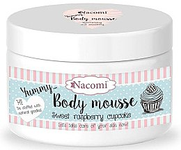 """Parfémy, Parfumerie, kosmetika Tělová pěna """"Sladké malinové košíčky"""" - Nacomi Body Mousse"""